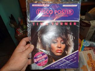 Tina Tuner Lp 45rpm Disco +poster Sellado Nuevo 1983