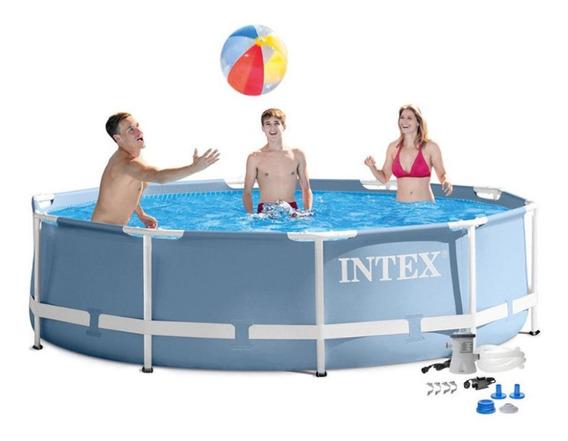 Pileta Estructural Intex 305x76 Completa Nuevo Modelo Cuotas Sin Interes