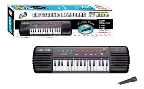 Teclado Eletronico Musical Infantil 31 Teclas C/ Microfone