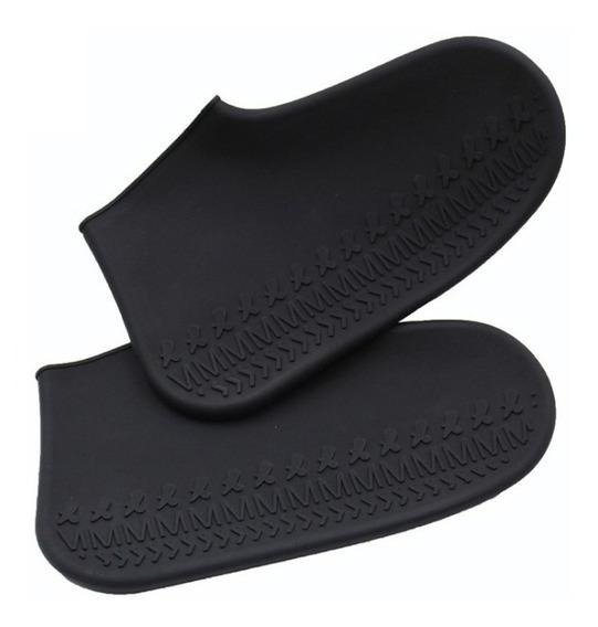 Cubre Zapato Tenis Impermeable Lluvia Silicon Antiderrapante