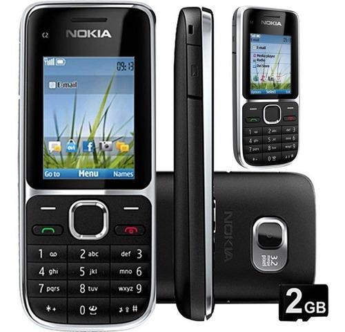 Imagem 1 de 8 de Nokia C2 01  3 G  Nacional/desbloqueado/lacrado+brinde