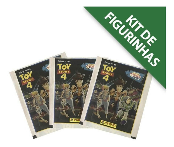 Toy Story 4 - Kit 12 Envelopes (48 Cromos + 12 Cards)
