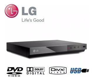 Reproductor Dvd Con Usb Lg Dp132 Rca Mp3 Wma