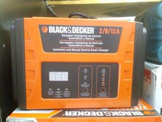 Cargador De Baterias De Auto Y Moto Black Y Decker 12v
