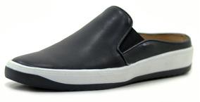 217ddf42d2 Sapato Tipo Mule Iate Mocassim Orlandelli Couro Legitimo