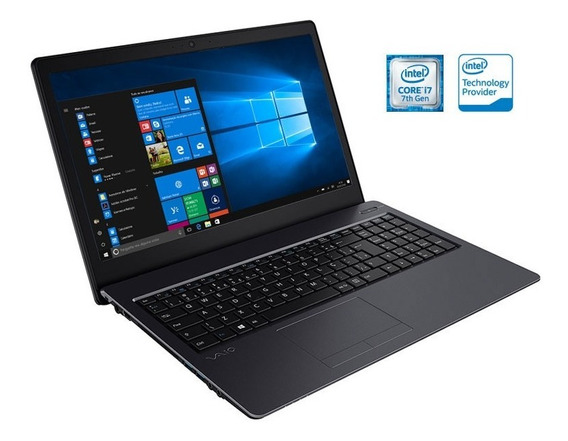 Notebook Vaio I3 6006u 4gb Fit 15s 15.6 1tb Full Hd Win10