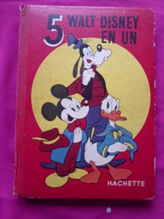 Libro Walt Disney En Un - Hachette Idioma Frances