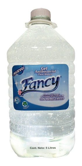 Gel Antibacterial 5 Litros Marca Fancy