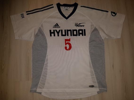 Camisa De Jogo Do Chonbuk Hyundai Motors Da Coreia Do Sul #5