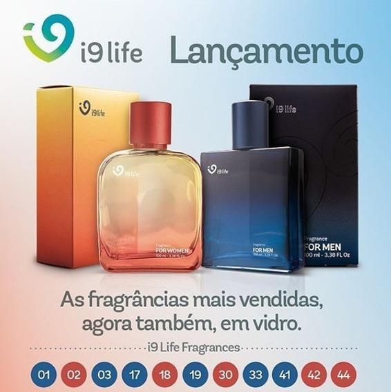 Perfumes I9 Life Vidro - Todas A Fragrância