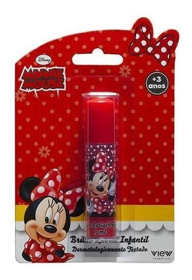 Disney Minnie Mouse - Brilho Labial Infantil