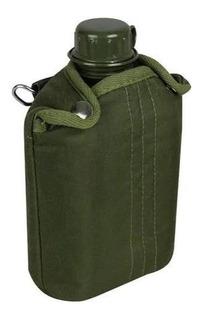 Cantil De Plástico Militar Exercito Tático 900ml Nautika-