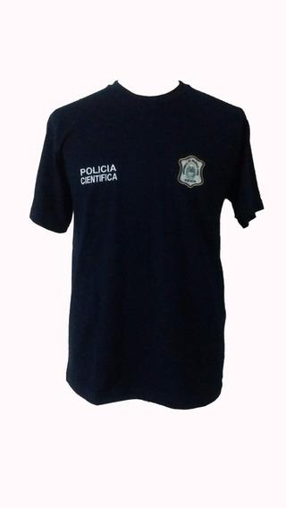 Remera Policía Científica De La Provincia De Buenos Aires