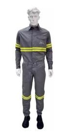 Conjunto Nr10 Eletricista 100% Algodão Camisa E Calça