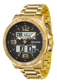 Relógio X-games Masculino Xmgsa003 P2kx Dourado Oferta