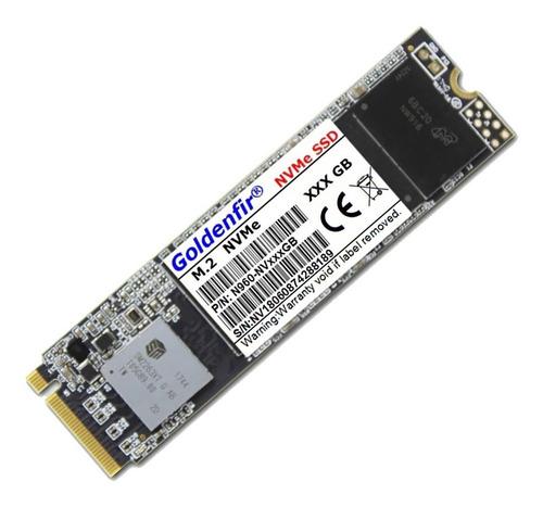 Ssd Nvme 1.3 512gb Goldenfir M.2 Pcie 3.0 X4 Vnand 2000 Mb/s