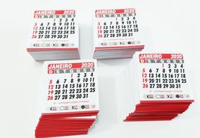 Mini Calendário 2020 5x5 Bloquinho De Geladeira 1000 Unid
