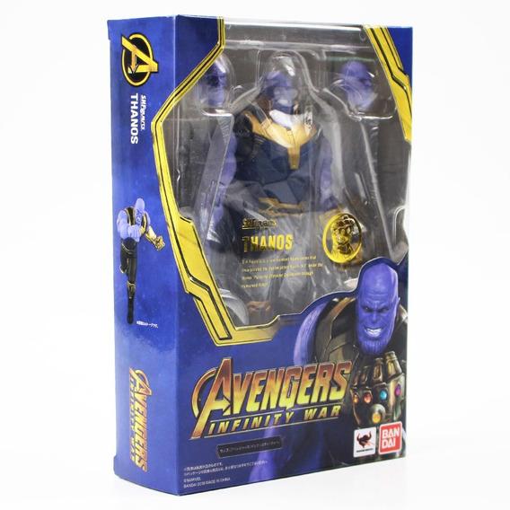 18 Centímetros Shf S.h.figuarts Avengers Infinito Ação Guerr