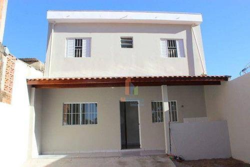 Imagem 1 de 10 de Casa Com 2 Dormitórios À Venda, 71 M² Por R$ 254.000,00 - Loteamento E Arruamento Telesp - Campinas/sp - Ca0413