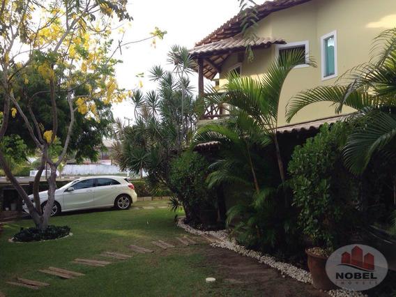 Casa Em Condomínio Com 5 Dormitório(s) Localizado(a) No Bairro Guarajuba Em Camaçari / Camaçari - 4564