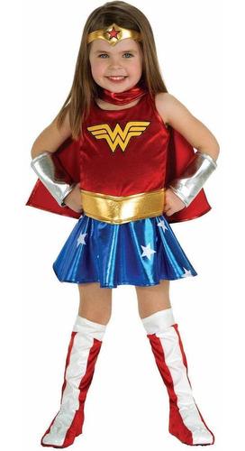 Disfraz Mujer Maravilla Disfraces Halloween Heroinas Niñas