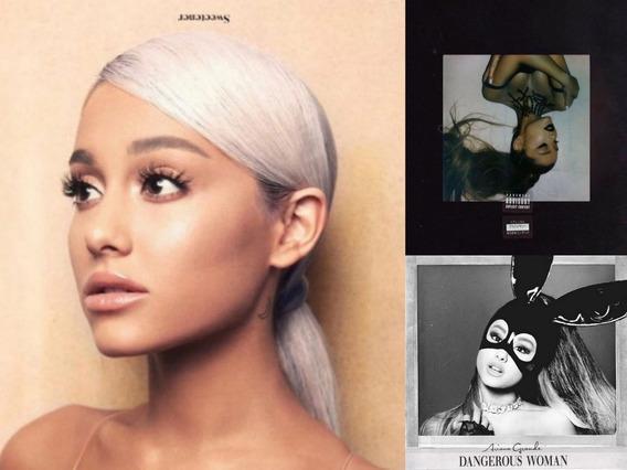 Ariana Grande 3 Cds Pack Dangerous Sweetener Thank U Next U-