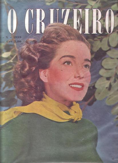 O Cruzeiro 1952.chico Alves.pouso Alegre.getulio.jose Lins.