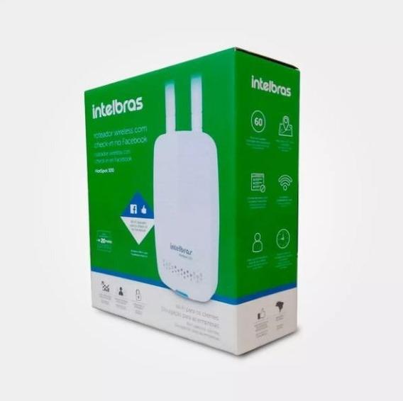 Roteador Intelbras Hotspot 300 Wifi C/ Check-in Facebook Ap