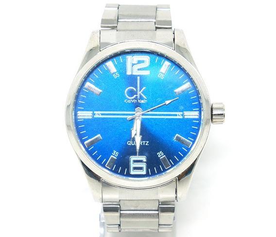 Relógio Masculino Pulseira De Aço Inoxidável Social Clássico