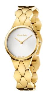 Reloj Calvin Klein Snake K6e23546 Mujer   Agente Oficial