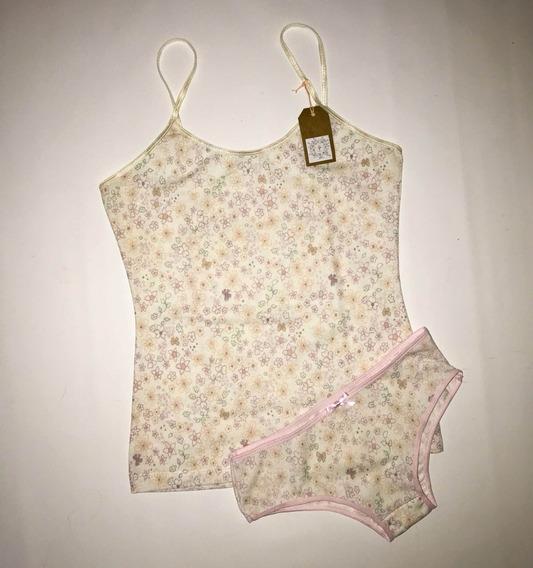 Conjunto Bombacha Y Camiseta De Niñas
