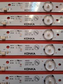 Kit Led Tv Tochiba 40l2500 Com 6 Barras