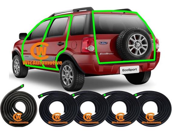 Kit Borrachas Portas E P-malas Ecosport 2002à2011 4 Portasgc