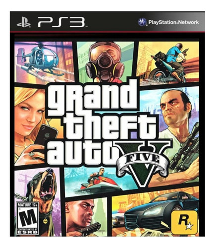 Imagen 1 de 5 de Grand Theft Auto V Standard Edition Rockstar Games PS3 Digital