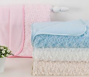 Cobertor Manta P/ Bebê Gigante Petit Baby Andreza C/ Cabide