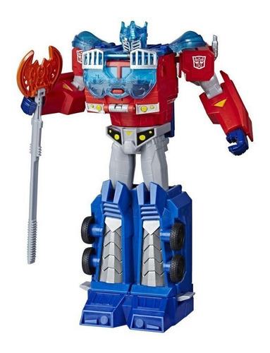 Boneco Transformers Cyberverse Optimus Prime Hasbro E7112