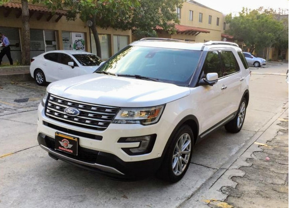 Ford Explorer Limited Full Equipo 2017
