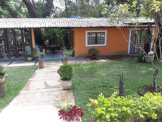 Chácara Com 3 Suítes À Venda, Sala Com Varanda 8000 M² Por R$ 585.000 - Aparecida - Araçoiaba Da Serra/sp - Ch0460