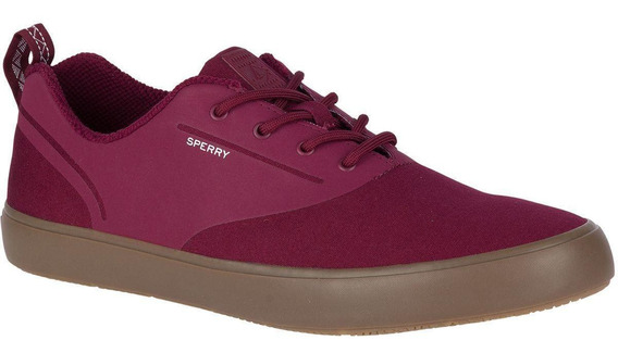 Zapatilla Flex Deck Cvo Canvas Burdeo Sperry