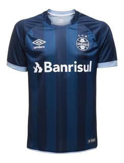 Camisa Oficial Umbro Grêmio 2017/2018 Sem Número Torcedor