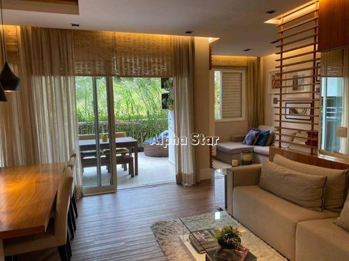 Apartamento Com 3 Dormitórios À Venda, 94 M² Por R$ 950.000,00 - Edifício Paisagem Tamboré - Santana De Parnaíba/sp - Ap2078