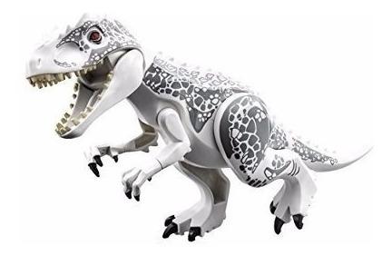 Boneco Bloco Dinossauros Jurassic Jurássico Indominus Rex