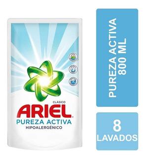 Ariel Jabón Líquido Pureza Activa 800 Ml