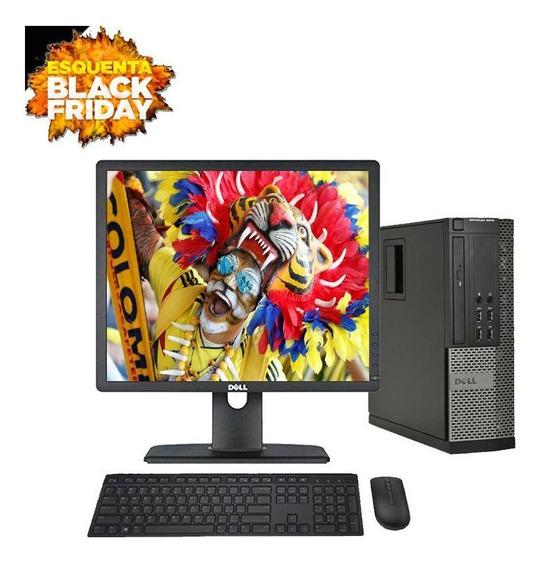 Computador Dell 7020 I5 4° Geraç 8gb Hd500gb +monitor 18.5