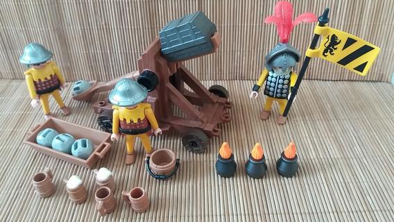Lote 6109- Soldados Medievais Set 3653 Incomp. - Playmobil