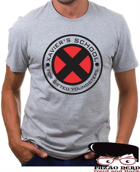 Camisa + Body Escola Xavier X-men Comics Nerd Geek
