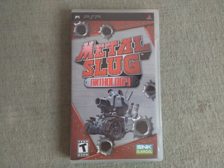 Caja Y Manual Metal Slug Anthology Psp