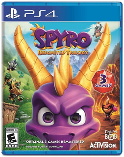 Juego Spyro Ps4 Reignited Trilogy Disponible