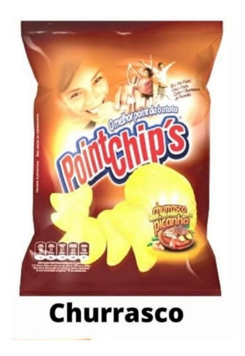 Imagem 1 de 3 de As Saborosas Batatas Point Chips