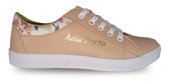 Tenis Feminino Julia Porto Sapatênis Frete Grátis Floral